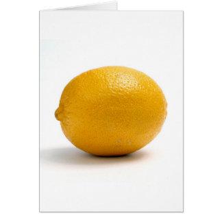 Lemon Card