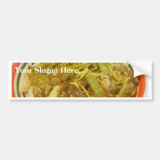 Lemon Chicken Dinner Food Cooking Bumper Stickers