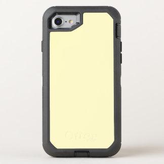 Lemon Chiffon Solid Color It OtterBox Defender iPhone 7 Case