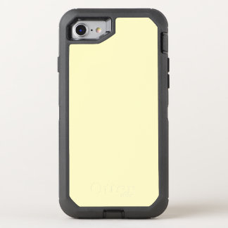 Lemon Chiffon Solid Color It OtterBox Defender iPhone 8/7 Case