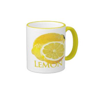 Lemon Citrus Coffee Mugs