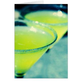Lemon Drop Cocktail Card