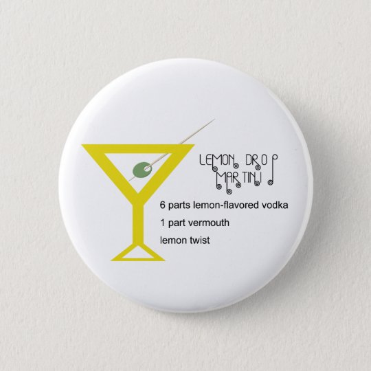 Lemon Drop Martini Button
