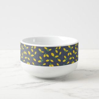 Lemon Drop Pattern Soup Bowl