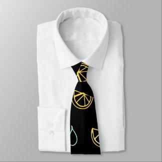 Lemon Drop Pattern Tie