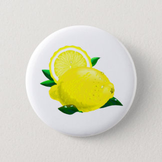 Lemon Drops 6 Cm Round Badge