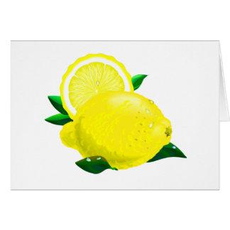 Lemon Drops Card