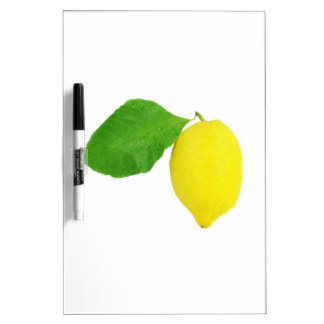Lemon Dry-Erase Board