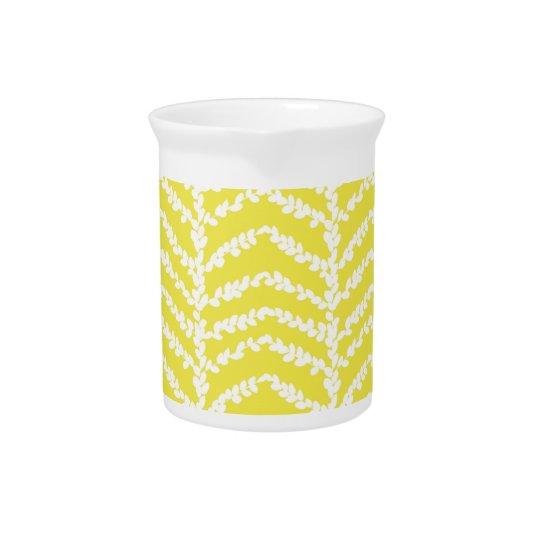Lemon English Boxwood Drink Pitcher