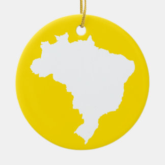 Lemon Festive Brazil at Emporio Moffa Christmas Ornament