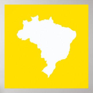 Lemon Festive Brazil at Emporiomoffa Poster