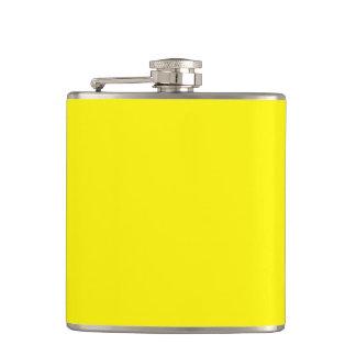 Lemon Hip Flasks