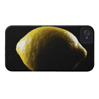 Lemon,Fruit,Black background Case-Mate iPhone 4 Case
