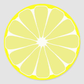 Lemon Fruit Stickers