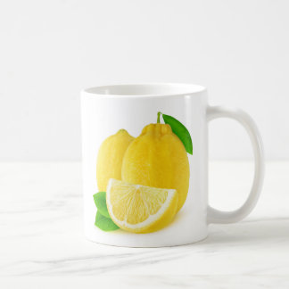 Lemon fruits coffee mug