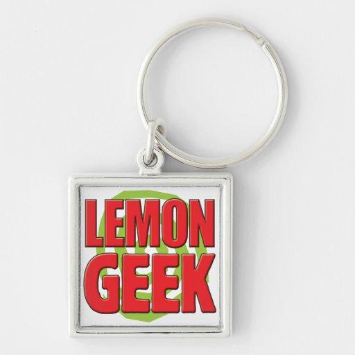 Lemon Geek Key Chains