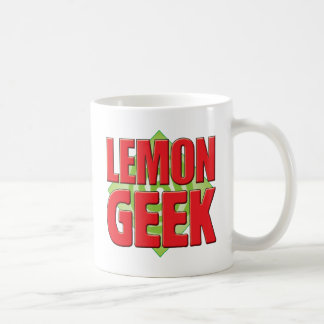 Lemon Geek v2 Coffee Mugs