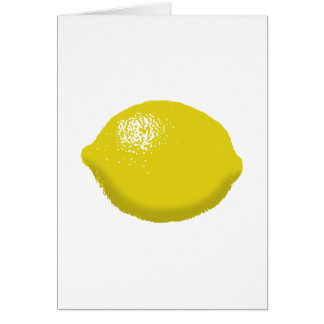 Lemon: Greeting Card