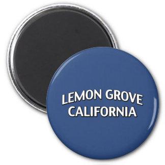 Lemon Grove California Fridge Magnet