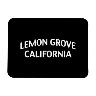 Lemon Grove California Vinyl Magnets