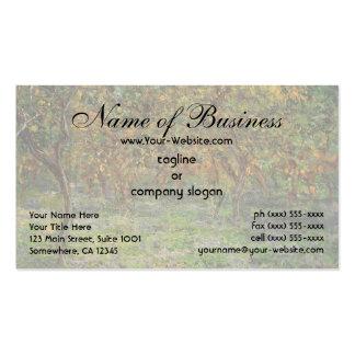 Lemon Grove in Bordighera by Claude Monet Business Card