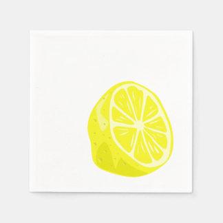 Lemon Half Cocktail Napkins Disposable Napkin