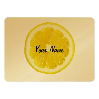 Lemon Head Modern Customizable Business Card
