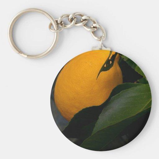 lemon key chain