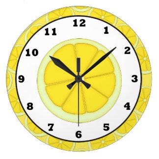 Lemon Kitchen clock