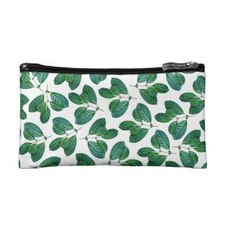 Lemon Leaf Cosmetic Bags