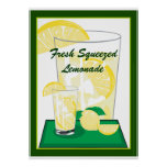 Lemon Lemons Lemonade Fresh Squeezed 20x18 Poster