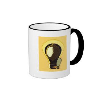 Lemon Light Bulb Mug