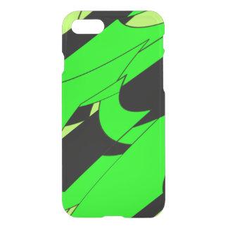 Lemon Lime Abstract Art iPhone 8/7 Case