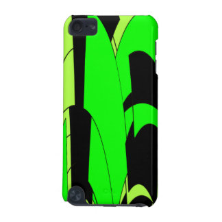Lemon Lime Abstract Art iPod Touch 5G Case