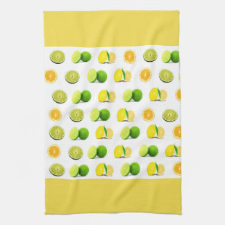 Lemon, Lime and Orange Kitchen Dishtowel Tea Towel
