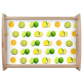 Lemon, Lime and Orange Slice Kitchen Serving Tray