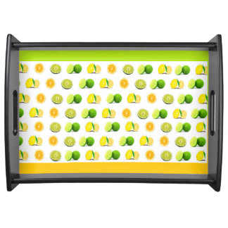 Lemon, Lime and Orange Slice Kitchen Serving Tray