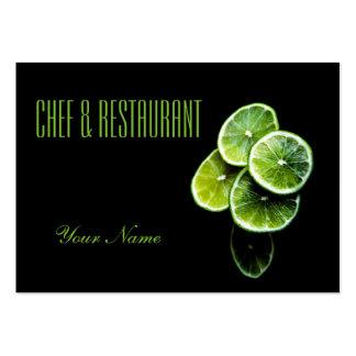 Lemon lime business card templates