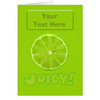 Lemon & Lime Card