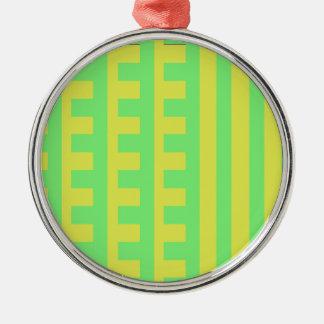 Lemon Lime Combs Tooth Christmas Ornament