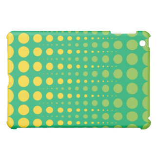 Lemon-Lime Dot iPad Fitted™Hard Shell Case Cover For The iPad Mini