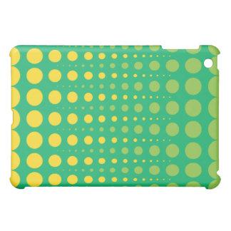 Lemon-Lime Dot iPad Fitted™Hard Shell Case iPad Mini Covers