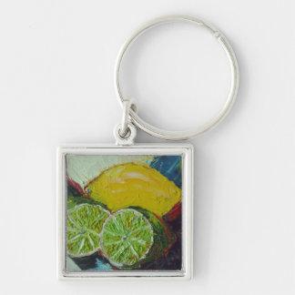 Lemon Lime Key Chain