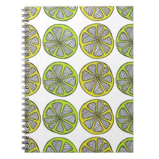 Lemon Lime Notebook