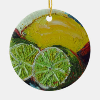 Lemon Lime Ornament