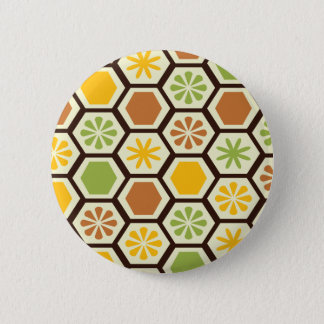 Lemon-Lime patterned button