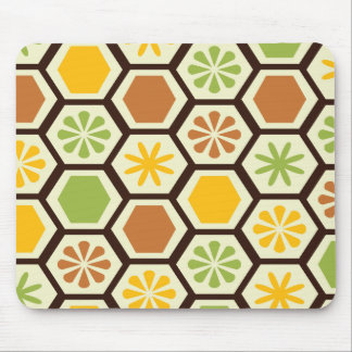 Lemon-Lime patterned mousepad