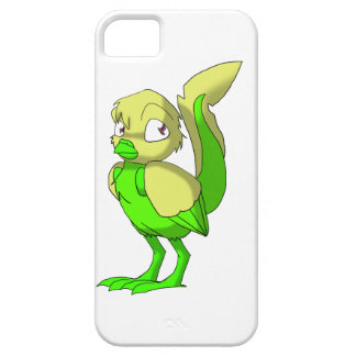 Lemon-Lime Reptilian Bird iPhone Case iPhone 5 Cases