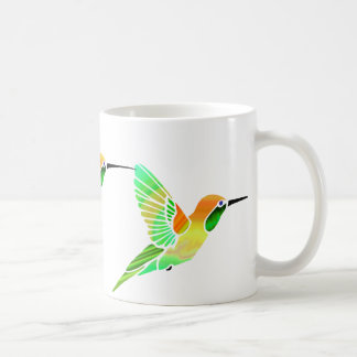 Lemon Lime Sorbet Hummingbirds Coffee Mug