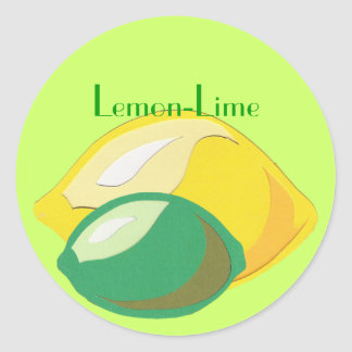 Lemon-Lime Sticker